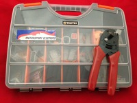 MOTORSPORT ELECTRICAL REPAIR KIT WITH 20# CRIMPERS