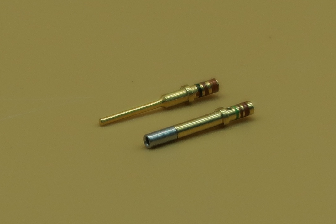 DTM GOLD PINS AND SOCKETS (100 PACK)