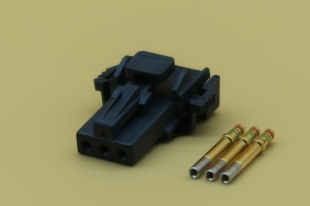 MICRO DTMN CONNECTOR FEMALE 3 PIN