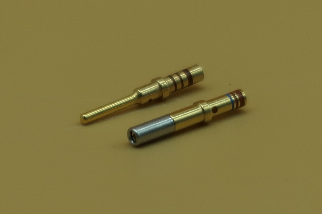 DT GOLD PINS AND SOCKETS (100 PACK)