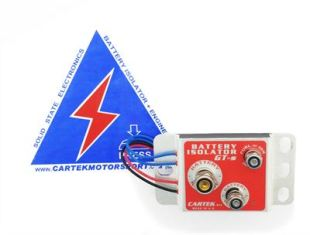 CARTEK Battery Isolator GT (unit only)