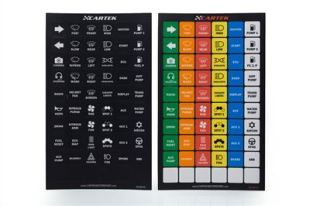 CARTEK Power Distribution Panel Label Set (Standard)