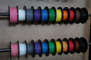 20#, 22#, 24# 44 SPEC RAYCHEM WIRE (10 METRE MINIMUM EACH COLOUR)