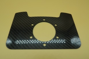 CARBON SWITCH PLATE FLAT