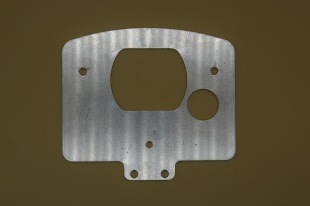 ALUMINIUM SWITCH PLATE TO FIT C125