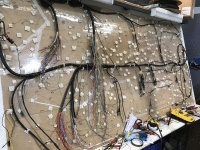 Wiring loom board